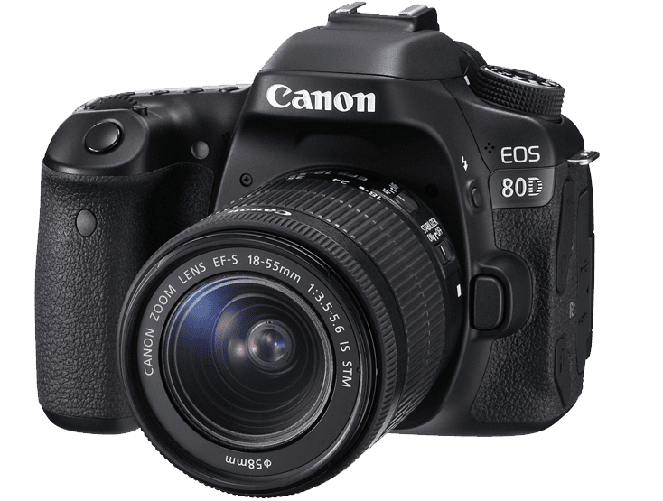 картинка Canon EOS 80D + 18-135 IS nano USM от магазина Rental+