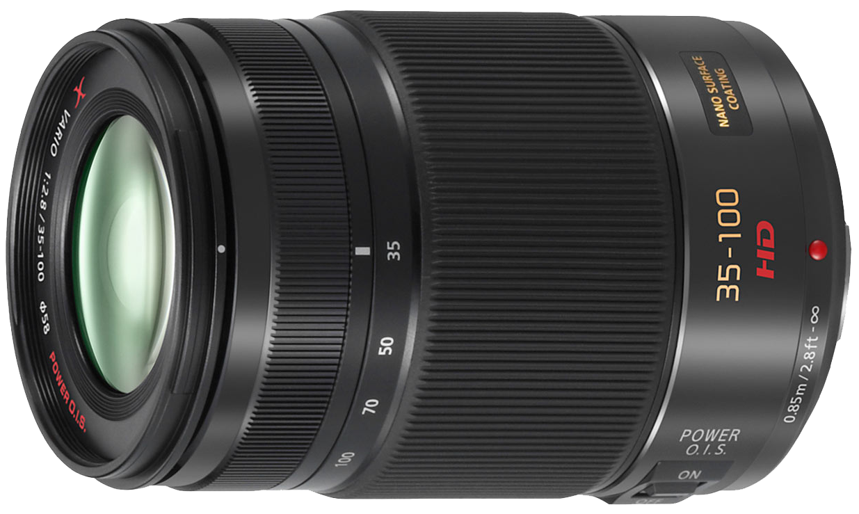 картинка Объектив Panasonic 35-100mm f/2.8 II Lumix G X Vario Power OIS от магазина Rental+