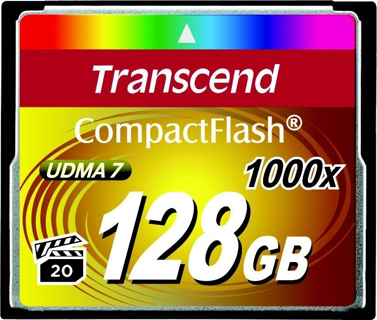 картинка Compact Flash 128 Gb x1000 от магазина Rental+